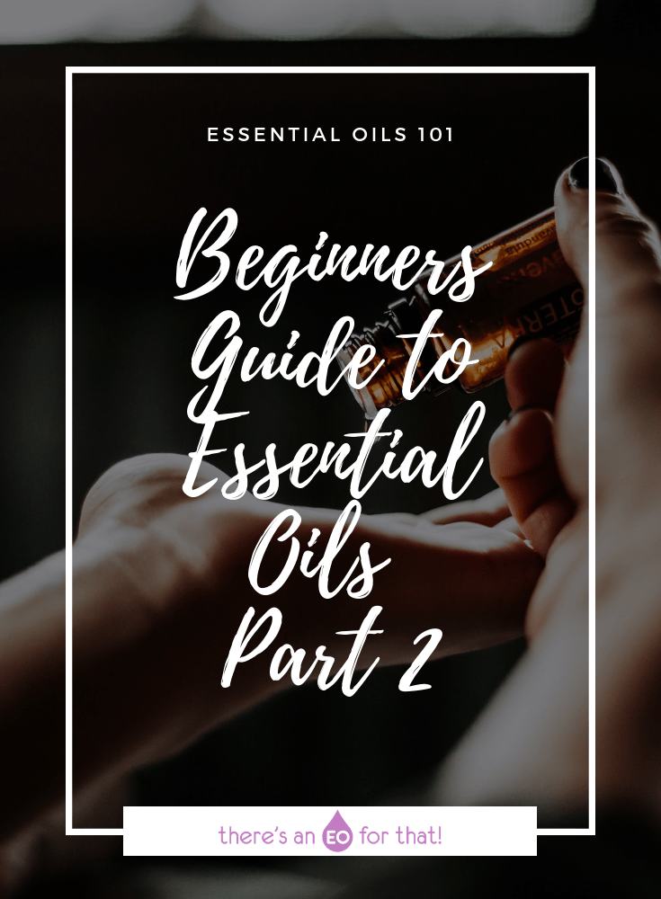 Beginners Guide to Essential Oils - Part 2 - The types of essential oils