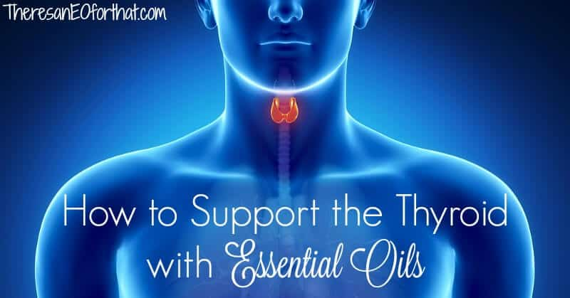 Essential oils for the thyroid