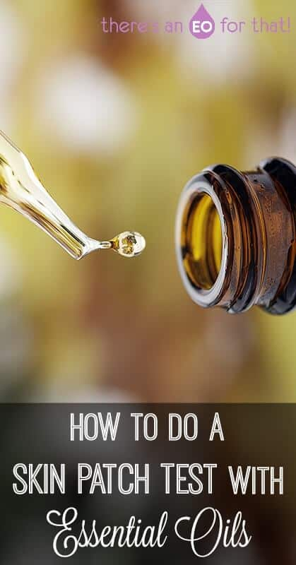 Learning how to do a skin patch test with essential oils is one of the most important things to learn when using these potent plant essences. This knowledge will help you determine which oils are safe for you and your family and which ones cause irritation! #essentialoils #skinpatchtest #allergies