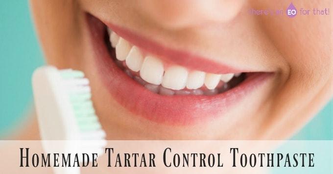 DIY Simple Homemade Tartar Control Toothpaste