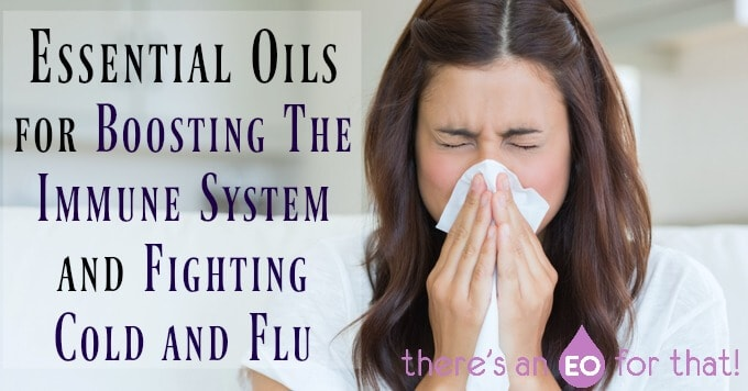 Essential Oils for Boosting The Immune System and Fighting Cold and Flu