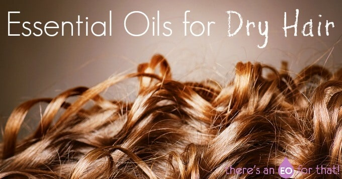 Essential oils for dry hair