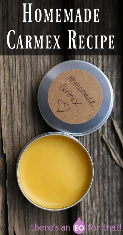 How to Make Homemade Carmex - Heal chapped lips, cold sores, and support overall healthy lips!