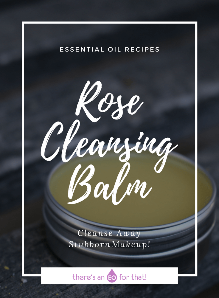 Rose Cleansing Balm for removing make-up and cleansing the pores without a hitch!