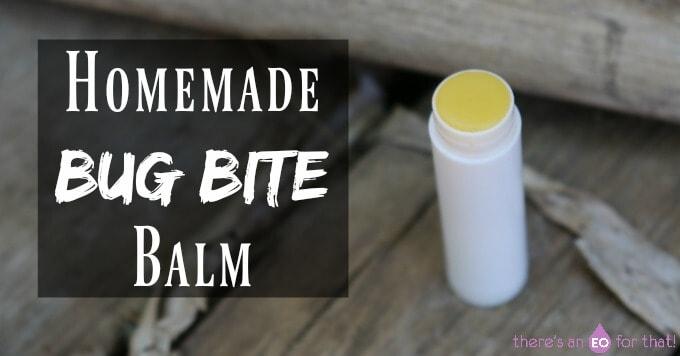 Homemade Bug Bite Balm