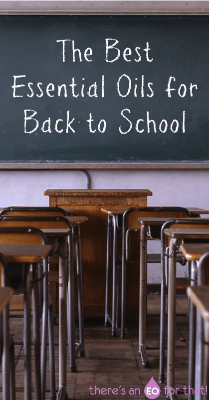 The Best Essential Oils for Back to School - Learn about the best essential oils for supporting your child during the school year like focus, restful sleep, and immunity.
