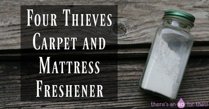 Four Thieves Carpet and Mattress Freshener