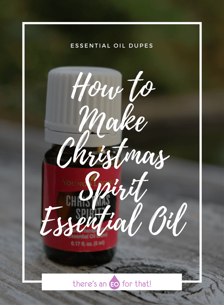 How to Make Christmas Spirit Essential Oil - Learn how to make this dazzling holiday essential oil blend with cinnamon-y top notes, sweet orange, and a snapshot of spruce.