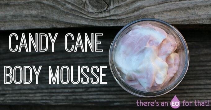 Candy Cane Body Mousse