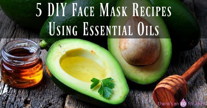 5 DIY Face Mask Recipes Using Essential Oils