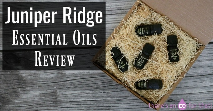 Juniper Ridge Essential oils Review