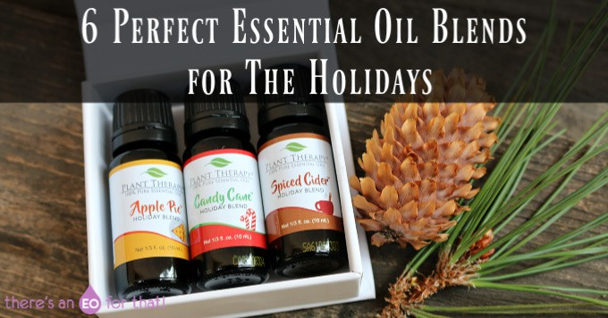 6 Perfect Essential Oil Blends for The Holidays