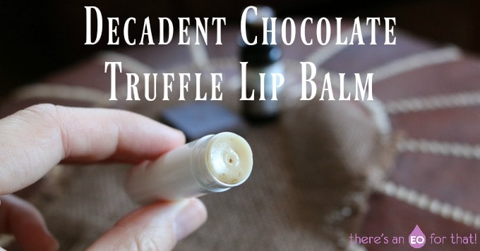 Decadent Chocolate Truffle Lip Balm