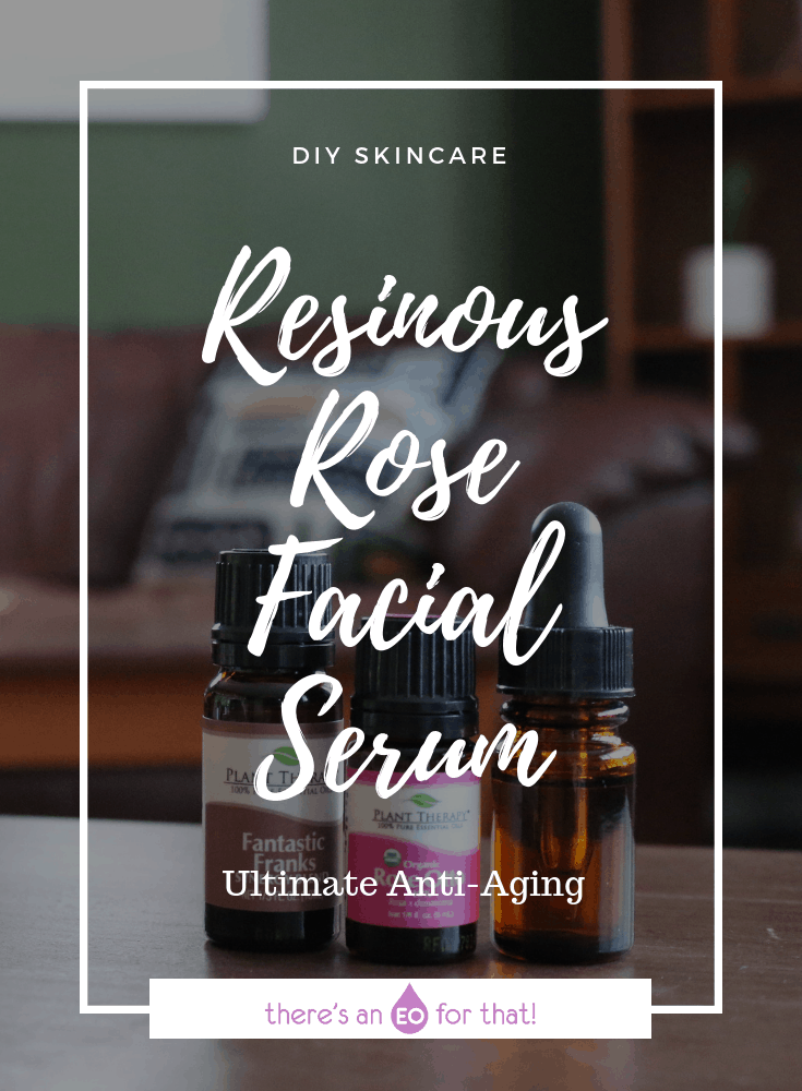 Resinous Rose Facial Serum - This serum is light, absorbs into the skin quickly, and leaves it feeling soft and supple. The oils give it an especially potent anti-aging effect!
