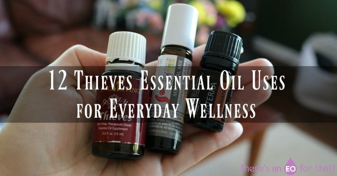 picture of three different thieves oil blends - doterra, YL, and aura cacia