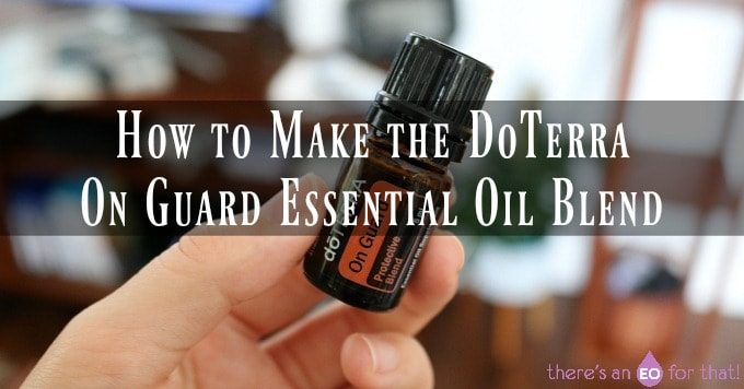 On Guard essential oil recipe